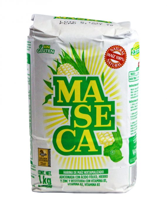 White Corn Flour for Tortillas / Masa de harina de maiz blanca-0