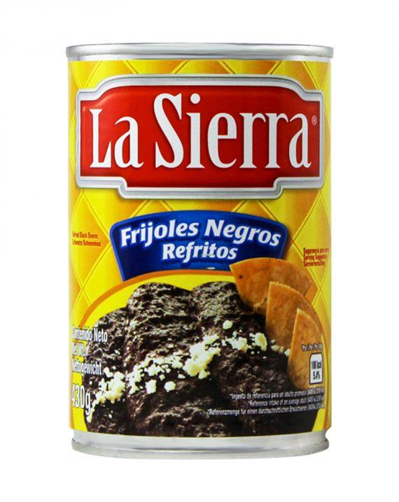 Refried Black Beans / Frijoles Negros Refritos-0