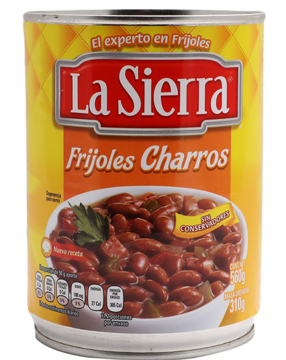Whole Beans Ranch Style / Frijoles Enteros estilo Charros-0