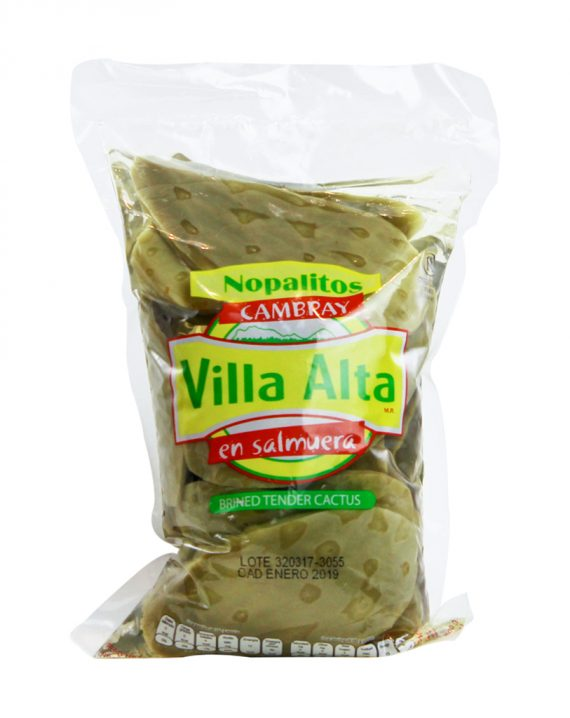 Whole Tender Cactus in salmuera / Nopales en Salmuera-0