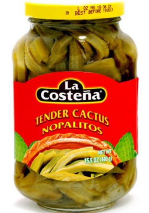 Tender Cactus / Nopales en tiras-0