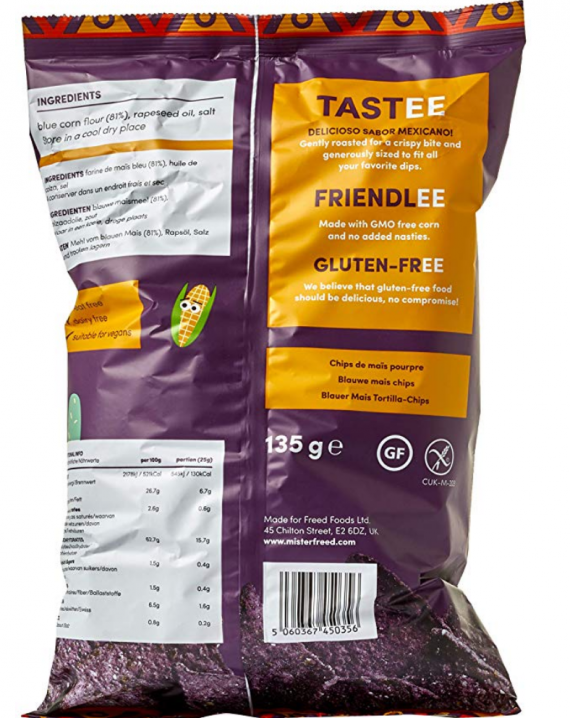 Tortilla Chips With Blue Maize-728