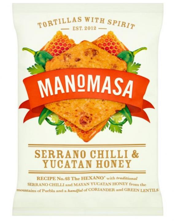Tortilla Chips - Serrano Chilli & Yucatan Honey-0