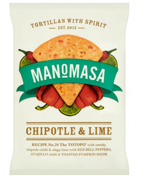 Tortilla Chips - Chipotle & Lime-0