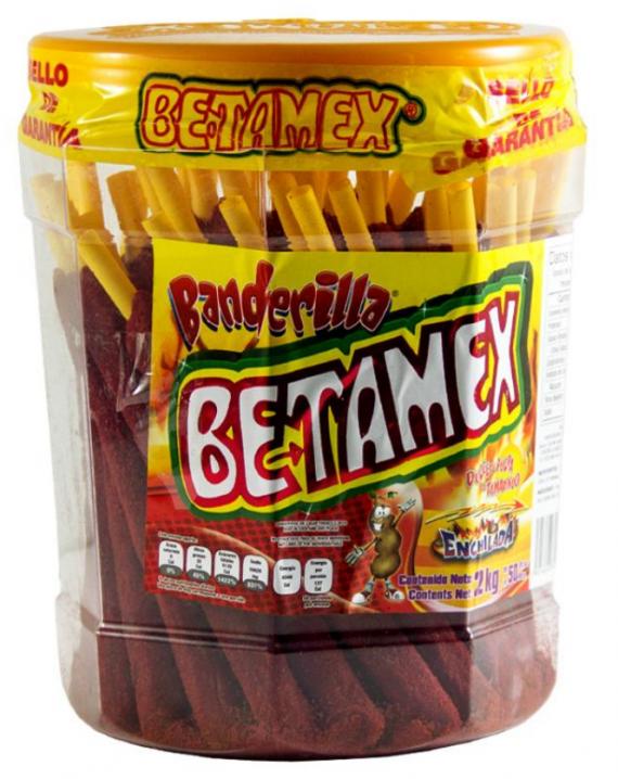 Tamarind Banderilla Hot / Banderilla de tamarindo enchilada-0