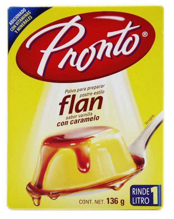 Caramel Custard Flan Vanilla Flavor / Flan sabor vainilla con caramelo-0