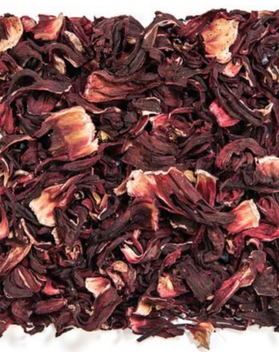 Hibiscus flower / Flor de jamaica-0