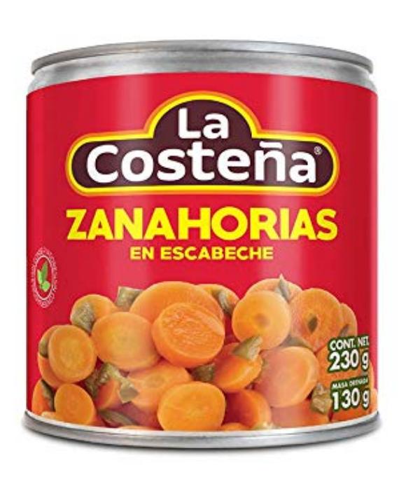 Pickled Carrots / Zanahorias en Escabeche-0