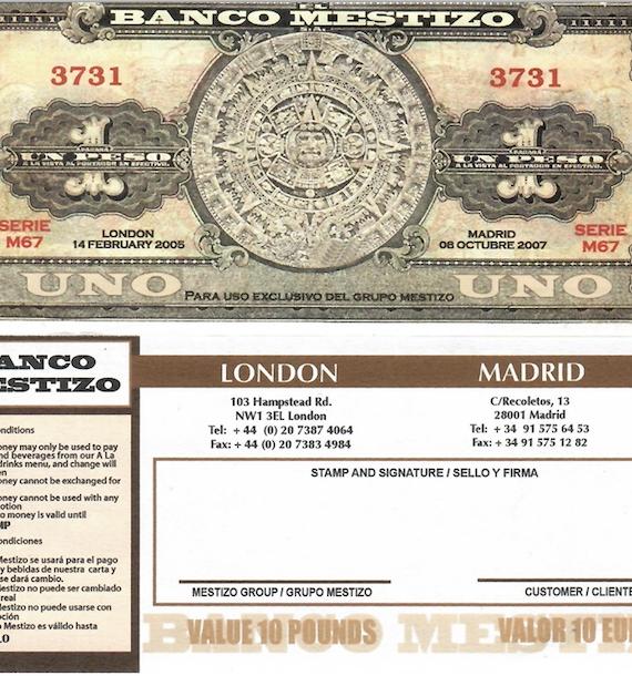 Mestizo Money / Dinero Mestizo-0