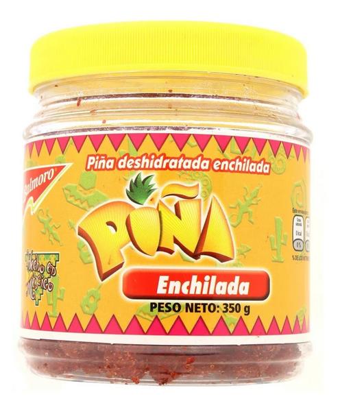 Spicy Dehydrated Pineapple / Pina deshidratada enchilada-0