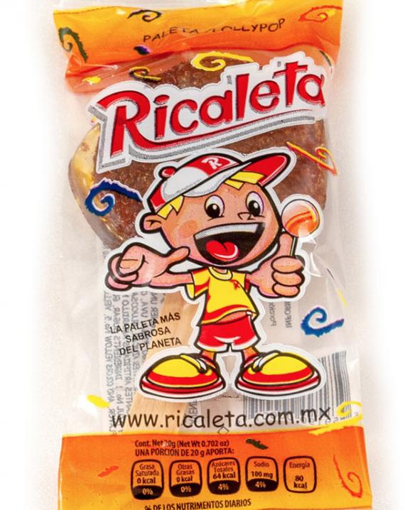 Ricaletas Tamarind Flavored Caramel lollipop-0