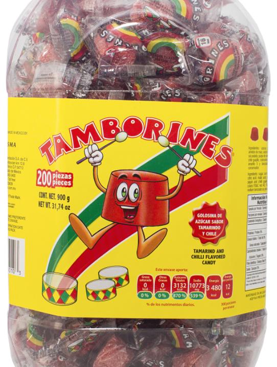 Tamborines Spicy Tamarind Candy-0