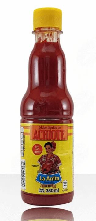 Achiote Seasoning Liquid / Sazonador Achiote Liquido-0