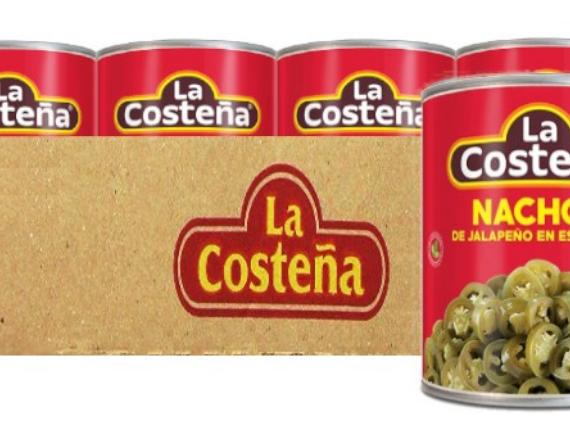 Jalapeno Pepper Nacho 2.8 kg Case / Chiles Jalapenos Nacho 2.8 kg Caja-0
